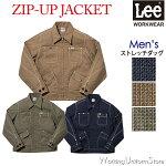 LeeメンズジップアップジャケットLWB06002リー/フェイスミックス