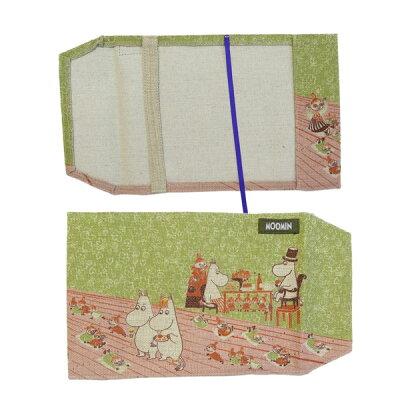 今、女性にとても人気「ムーミン」のブックカバーです。文庫本サイズのカバー栞付きムーミン(M...