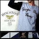 長袖Tシャツ『HOUSTON/ヒューストン』 21071 ベースボール...