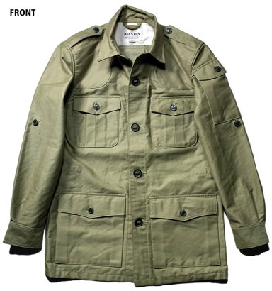 Houston x Fielder Safari Jacket 50570: Tan