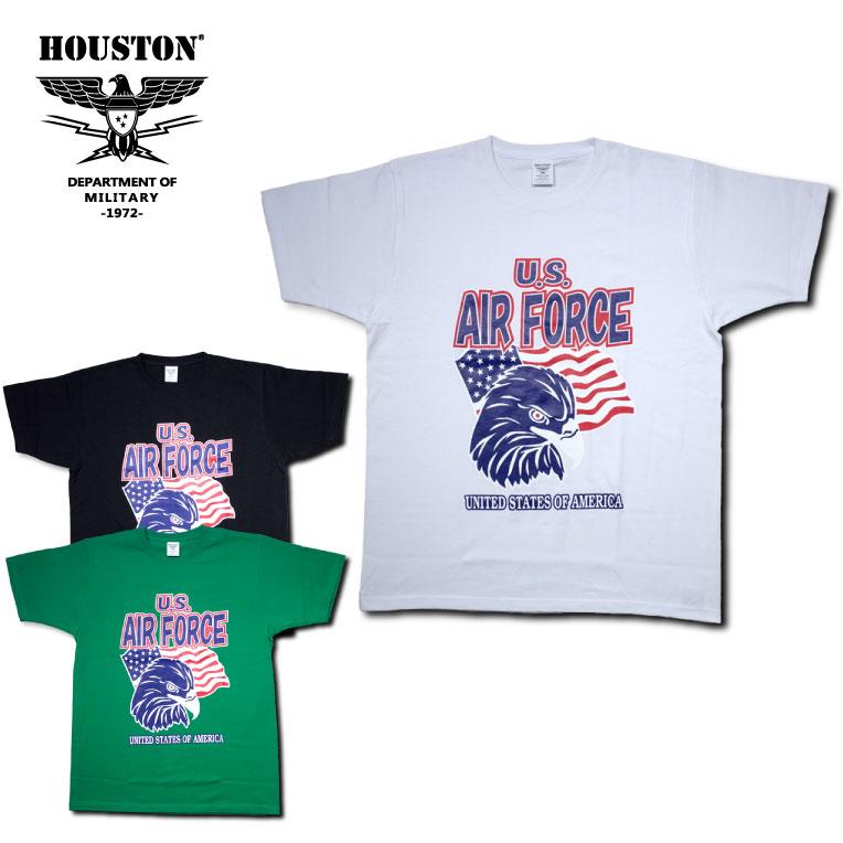 トップス, Tシャツ・カットソー STOCK SALEHOUSTON21500 PRINT TEE(USAF1) T(USAF1) -3-AIR FORCE6.6oz21500