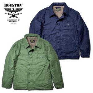 2018A/W『HOUSTON/ヒューストン』50833A-2DECKJACKET/A-2デッキジャケット-全2色-/バックサテン/コットン/ボア/襟/リブ/USN/アジャスター/ユニオンネットストア[50833]