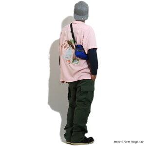 2019S/S『HOUSTON/ヒューストン』40526EMBSOUVENIRSHIRT(MAIKO)/刺繍スーベニアシャツ(舞妓)-全3色-/スカシャツ/半袖/スーベニア/アメカジ/ビンテージ/ヴィンテージ/ユニオンネットストア[40526]