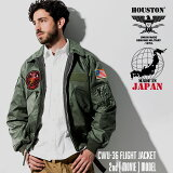 HOUSTON / ヒューストン 51136 CWU-36P FLIGHT JACKET 2nd [MOVIE] MODEL / フライトジャケット MOVIEモデル -全1色- / ミリタリー/MILITARY/ワッペン/ベルクロ/ユニオンネットストア[51136]
