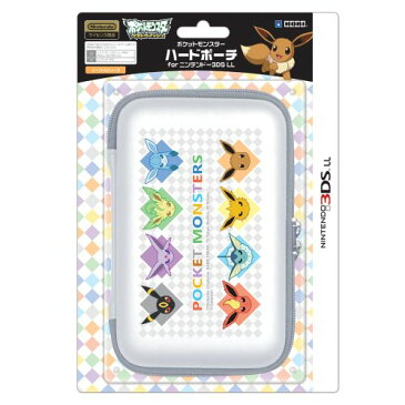 【3DS/3DS LL用】ポケットモンスター ハードポーチ for ニンテンドー3DS LL イーブイシリーズ
