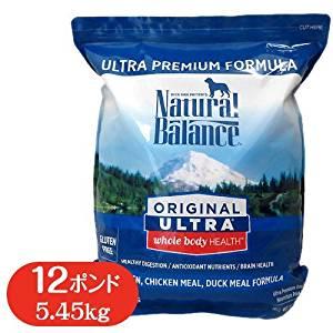 ナチュラルバランス ホールボディヘルスドッグフード 12ポンド (5.45kg) 全犬種・全年齢 対応[cb]
