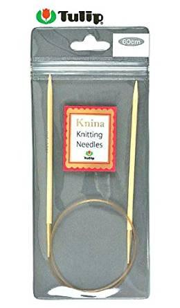 Tulip Knina Knitting Needles 竹輪針 (60cm) 7号 KKJA-6042[cb]