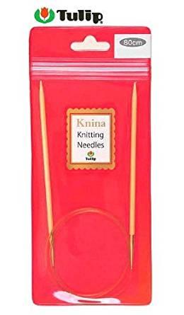 Tulip Knina Knitting Needles 竹輪針 (80cm) 4号 KKJA-8033[cb]