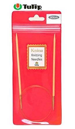 Tulip Knina Knitting Needles 竹輪針 (80cm) 12号 KKJA-8057[cb]