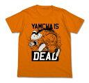 ドラゴンボル改 ヤムチャイズデッドTシャツ オレンジ サイズ:XLcb