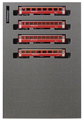 KATO Nゲージ アルプスの赤い客車 Ew I 4両増結セット 10-1414 鉄道模型 客車[cb]