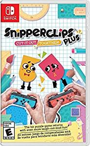 Snipperclips Plus: Cut It Out Together (輸入版:北米) - Switch[cb]画像