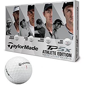 TAYLOR MADE(テーラーメイド) ゴルフボール TP5X ゴルフボール12個入り 2018年モデルATHLETE EDITION LTD ボールカラーホワイト メンズ B1362201 ホワイト ディンプル:322シームレス カバー:ウレタン[cb]