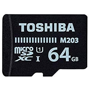 東芝『microSDXCメモリカード MU-J064GX 64GB』