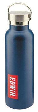 キャプテンスタッグ(CAPTAIN STAG) CS × EDWIN スポーツボトル 水筒 直飲み ダブルステンレスボトル 真空断熱 HDボトル 600ml UY-8507[cb]