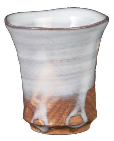 萩陶苑 白釉ショット杯 圭一郎作 13703