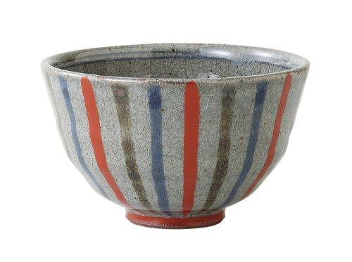 西海陶器 色彩十草 軽量飯碗(小・赤) 66088