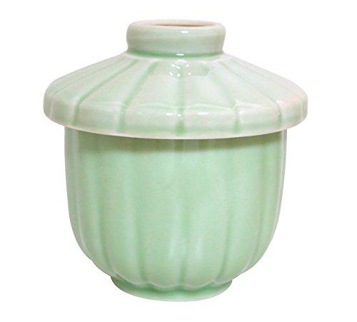 菊型グリンミニむし碗 (キ117-235)