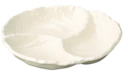 萬古焼 白い器 ておこしホワイト オードブル 05775