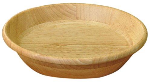 ヤマコー 天然木ラウンドプレート ナチュラル 直径27cm 32053