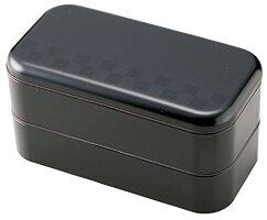 お弁当箱サイズランチスタックスクエアランチブラック750mlT-36165