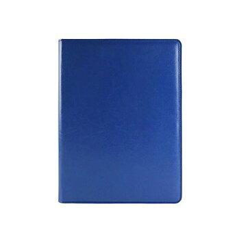 Homehalo  クリップボード ビジネス手帳 A4 PUレザー 多機能 多収納 多ポケット システム手帳 カバーノートiPhoneに対応可能 シンプルなデザイン A4用紙 ブルー