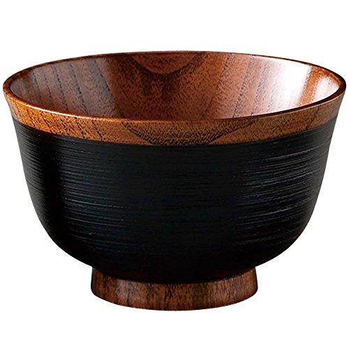 山下工芸(Yamasita craft) 外さび刷毛目椀 黒 41013380