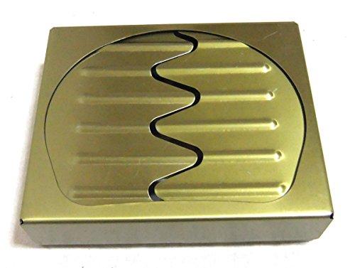 コレ 便利 選べる タブレット バーナー コンロ ポケット ストーブ アウトドア サバイバル 災害 時 の 必需品 (ゴールド+袋)