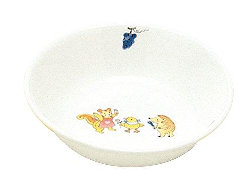 国産強化磁器 子ども食器 フルーツ皿 ワンダーランド クリストバライト強化磁器 A3012-46