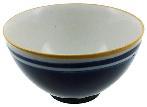 美濃焼 パーラー 飯碗 ネイビー K99101