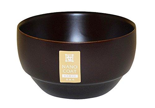 角田清兵衛商店 ナノコート スープボール (L) DS ダークブラウン 470229