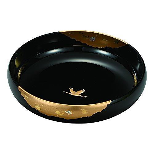 8.0 盛鉢 かがやき 黒 5M-779