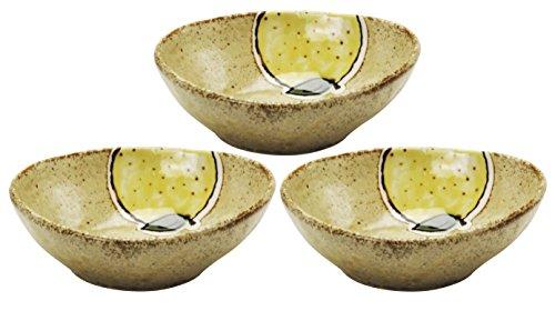 美濃焼 小鉢 3個セット ゆず 138714(3)