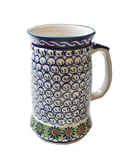 HINODEYA ポーリッシュ・ポタリー ビアマグカップ W-4 HD-080352