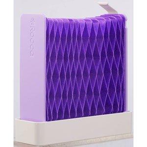 ドウシシャ 自然気化式ペーパー加湿器 (コンパクト・パープル)DOSHISHA Rocca 紙の加湿器 RC-KP1302-PP