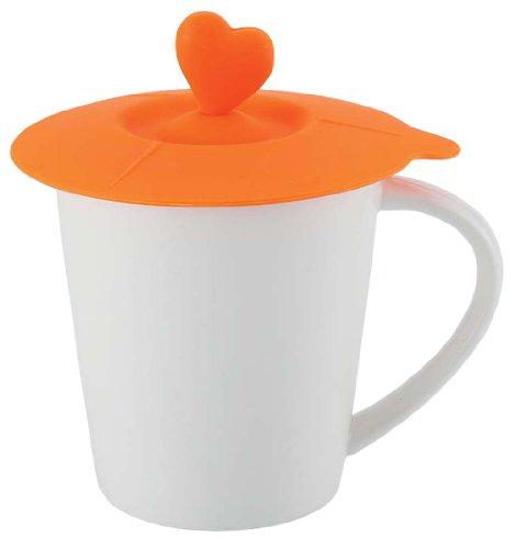 サンゴー ヌードルマグ ハート オレンジ 6748-303