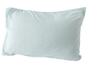 mofua natural ふんわりタオル地枕カバー 43×63cm ミント 51360004