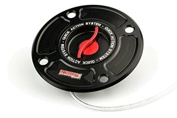 ACCOSSATO(アコサット) アルミ フューエルタンクキャップ Ver.3 スズキ GSX1300Rハヤブサ(99-07) GSX-R1000(01-02)他 レッド