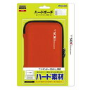【3DS LL用】任天堂公式ライセンス商品 ハードポーチ for ニンテンドー3DS LL レッド