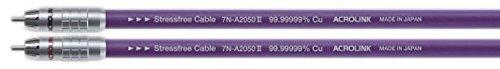 ACROLINK インターコネクトRCAケーブル 7N-A2050III 1.0m ペア 7N-A2050-3-1.0