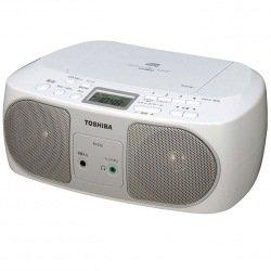 東芝 CDラジオ TY-C15(S) [シルバー]