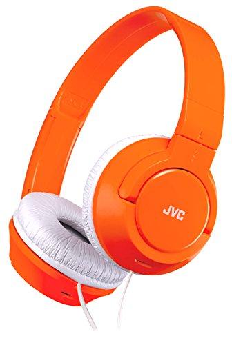 JVC ステレオヘッドホン  ネオンオレンジ HA-S240-D