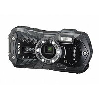RICOH防水デジタルカメラRICOHWG-50ブラック防水14m耐ショック1.6m耐寒-10度RICOHWG-50BK04571
