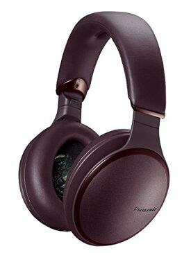 パナソニック 密閉型ヘッドホン ワイヤレス ハイレゾ音源対応 ノイズキャンセリング マルーンブラウン RP-HD600N-T