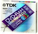 TDK DVD-RAM録画用 2-3倍速対応 5色カラーミックス 5枚パック [DVD-RAM120CMX5U]