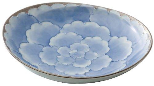 文山 有田のパスタ皿 チェルキオ シルバー・ドルチェ 97962