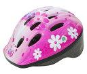 PALMY(パルミー) キッズヘルメット SG P-MV12 52-56cm フラワー/ピンク
