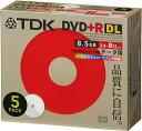 TDK DVD+R 片面2層(8.5GB) 2.4~8倍速 インクジェットプリンタ対応(ホワイト) 10mmケース入り 5枚 D+R85PWB5S