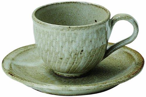 信楽焼 へちもん うのふトチリ コーヒー碗皿 3-1059