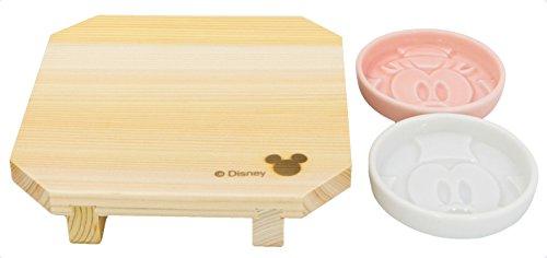 ディズニー 寿司の器 セット (醤油皿,寿司ゲタ) 3217-12